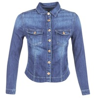 Abbigliamento Donna Giacche in jeans Le Temps des Cerises LILLYM Blu / MEDIUM