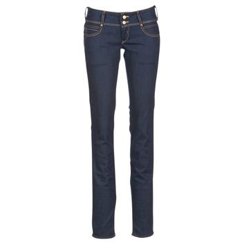 Abbigliamento Donna Jeans dritti Le Temps des Cerises 220 Blu