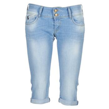 Abbigliamento Donna Jeans 3/4 & 7/8 Le Temps des Cerises CHRISTIA Blu / CLAIR