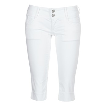 Abbigliamento Donna Pinocchietto Le Temps des Cerises NINA Bianco