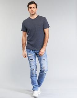 Abbigliamento Uomo Jeans slim Le Temps des Cerises 711 JOGG Blu / CLAIR