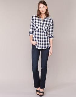 Abbigliamento Donna Jeans bootcut Levi's 715 BOOTCUT Blu