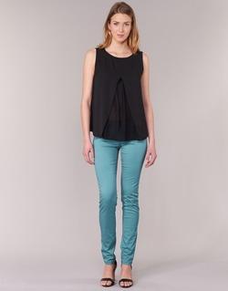 Abbigliamento Donna Pantaloni 5 tasche Les P'tites Bombes BEMBRELA Blu