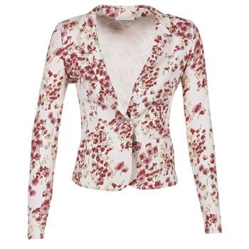 Abbigliamento Donna Giacche / Blazer Les P'tites Bombes OSIDOULE Bianco / Rosso