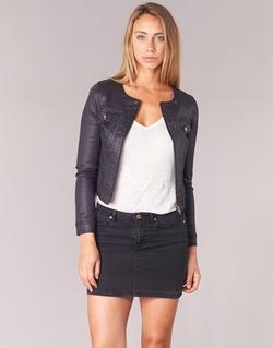 Abbigliamento Donna Giacche in jeans Les P'tites Bombes OMILATE Nero