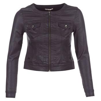 Abbigliamento Donna Giacche in jeans LPB Woman OMILATE Nero
