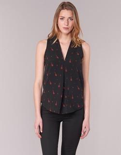 Abbigliamento Donna Top / Blusa Les P'tites Bombes MERVINE Nero / Rosso