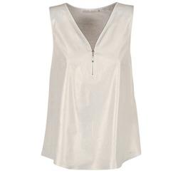 Abbigliamento Donna Top / Blusa Les P'tites Bombes LOUVALE Bianco / Oro