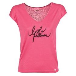 Abbigliamento Donna T-shirt maniche corte Les P'tites Bombes CHOUBERNE Rosa