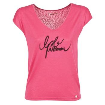 Abbigliamento Donna T-shirt maniche corte LPB Woman CHOUBERNE Rosa