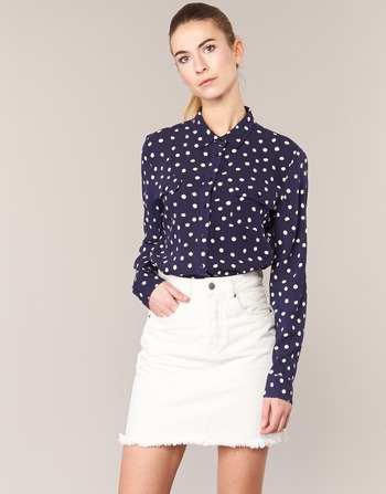 Abbigliamento Donna Camicie Kookaï HOLIAVE MARINE / Bianco