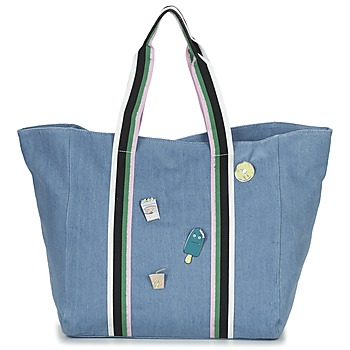 Borse Donna Tote bag / Borsa shopping Paul & Joe Sister HASSINA Blu
