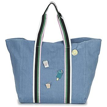 Borse Donna Tote bag / Borsa shopping Paul & Joe Sister HASSINA Blu