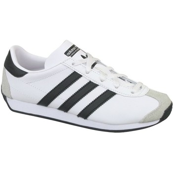 Scarpe Unisex bambino Sneakers basse adidas Originals Country OG G Bianco