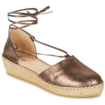 Scarpe Donna Sandali Betty London GIORDA Bronzo