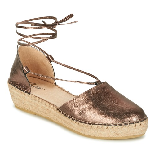 Betty London GIORDA Bronzo Scarpe Sandali Donna 45,50