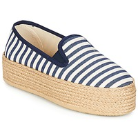Scarpe Donna Espadrillas Betty London GROMY MARINE / Bianco