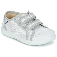 Scarpe Bambina Sneakers basse Citrouille et Compagnie GLASSIA Argento