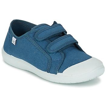 Scarpe Unisex bambino Sneakers basse Citrouille et Compagnie GLASSIA Blu