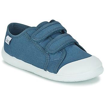 Scarpe Bambino Sneakers basse Citrouille et Compagnie GLASSIA Blu