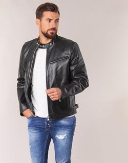 Abbigliamento Uomo Giacca in cuoio / simil cuoio Schott LC 940 D Nero