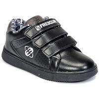 Scarpe Bambino Sneakers basse Freegun FG ULSPORT Nero / Bianco