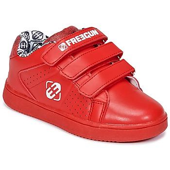Scarpe Bambino Sneakers basse Freegun FG ULSPORT Rosso / Bianco