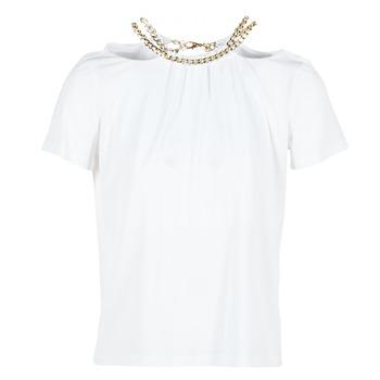 Abbigliamento Donna Top / Blusa Versace Jeans B2HPB721 Bianco