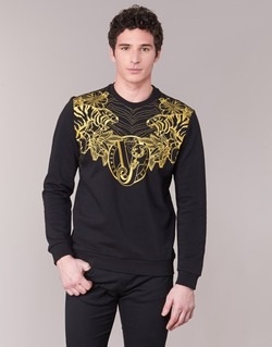 Abbigliamento Uomo Felpe Versace Jeans B7GPB7F0 Nero