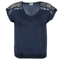 Abbigliamento Donna Top / Blusa Vero Moda SATINI MARINE