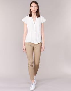 Abbigliamento Donna Pantaloni 5 tasche Vero Moda BUENO Beige
