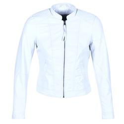 Abbigliamento Donna Giacca in cuoio / simil cuoio Vero Moda QUEEN Blu / CLAIR