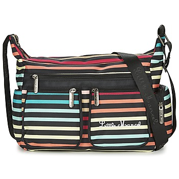 Borse Donna Tracolle Little Marcel NANCY Nero / Multicolore