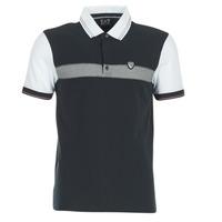 Abbigliamento Uomo Polo maniche corte Emporio Armani EA7 TENNIS CLASSIC MARINE / Bianco