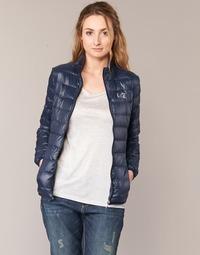 Abbigliamento Donna Piumini Emporio Armani EA7 TRAIN CORE MARINE