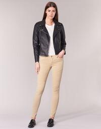 Abbigliamento Donna Pantaloni 5 tasche Noisy May EVE Beige