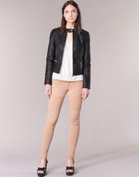 Abbigliamento Donna Pantaloni 5 tasche Noisy May EVE Rosa