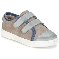 Scarpe Bambino Sneakers basse Citrouille et Compagnie GOUTOU Grigio / TAUPE / Blu