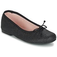 Scarpe Bambina Ballerine Citrouille et Compagnie GLIGLO Nero / Pailleté