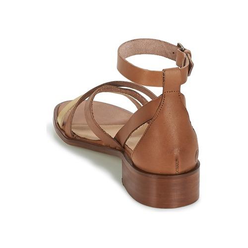 Casual Attitude COUTIL Camel / Dore - Consegna gratuita  Scarpe Sandali Donna 6500
