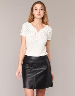 Abbigliamento Donna T-shirt maniche corte Naf Naf OPARI ECRU