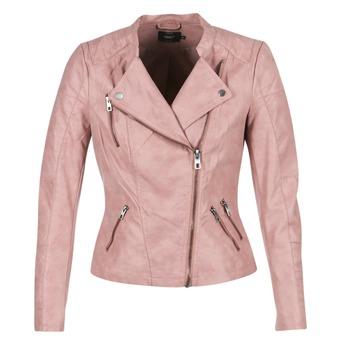 Abbigliamento Donna Giacca in cuoio / simil cuoio Only AVA Rosa