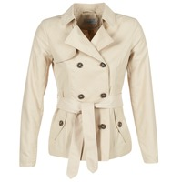 Abbigliamento Donna Trench Only MARIA SHORT Beige