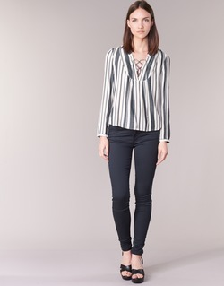 Abbigliamento Donna Pantaloni 5 tasche Only ELENA Marine