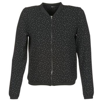 Abbigliamento Donna Giubbotti Only NOVA LACE Nero / Bianco