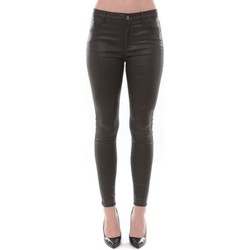 Abbigliamento Donna Pantaloni 5 tasche Comme Des Filles Jean Love Denim Kaki 123P16H-3 Verde