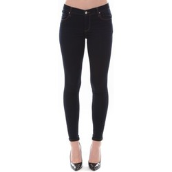 Abbigliamento Donna Jeans slim Comme Des Filles Jean Love Denim Bleu 121P16H-2 Blu