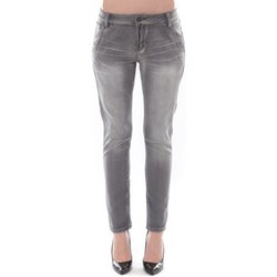 Abbigliamento Donna Jeans slim Comme Des Filles Jean Boy Friend  Denim Avenue Gris 15HP009-2 Grigio