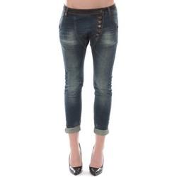 Abbigliamento Donna Jeans 3/4 & 7/8 Dress Code Jean Remixx Bleu Brut RX862 Blu