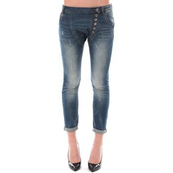 Abbigliamento Donna Jeans 3/4 & 7/8 Dress Code Jean Remixx Bleu Delavé RX860 Blu